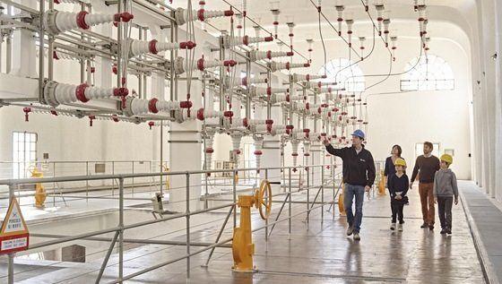 Visite guidate alla centrale idroelettrica di riva del - Riva barche sito ufficiale ...