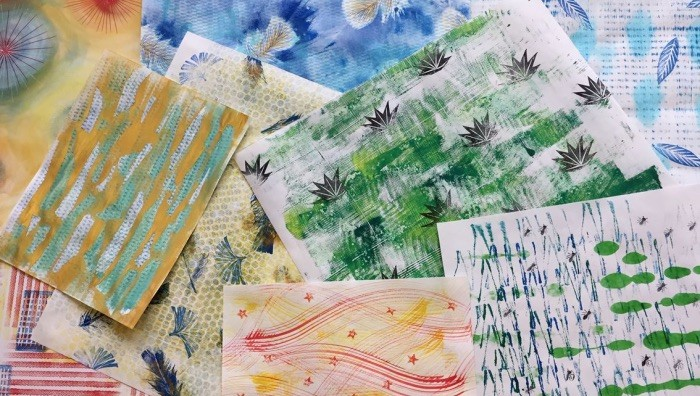 Mart Workshop / Impronte. Decorare la carta (Rovereto, 20 ...